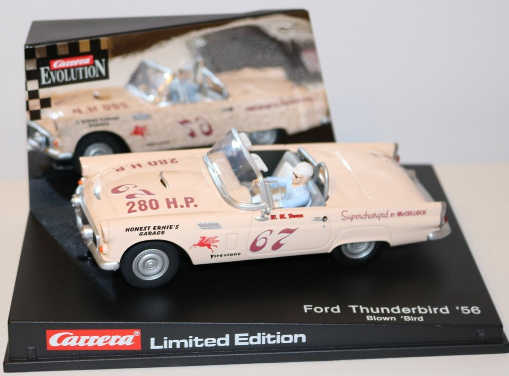 Carrera Evo. 25481 - Ford Thunderbird '56, Blown Bird, Ltd. Ed. 1:32