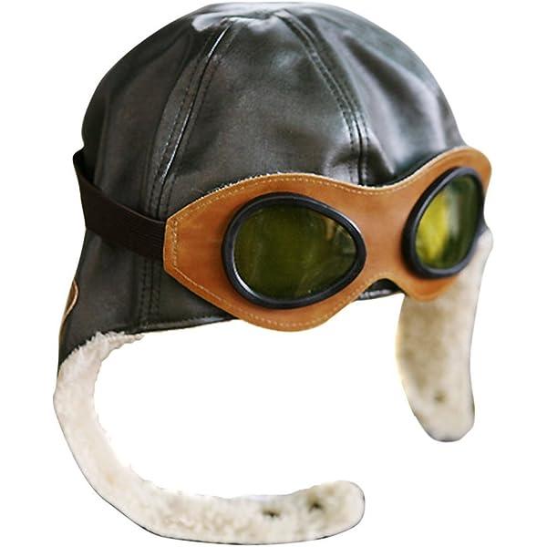 Amazon.com: Gorra clásica aviador - Vintage Segunda ...