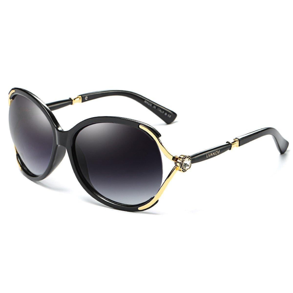 Gafas De Sol Ronda Cara Dama Gafas De Sol Hombres Marea Personalidad Tomar Los Ojos Del Conductor,A1