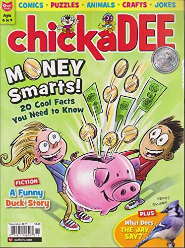 Chickadee Magazine November -