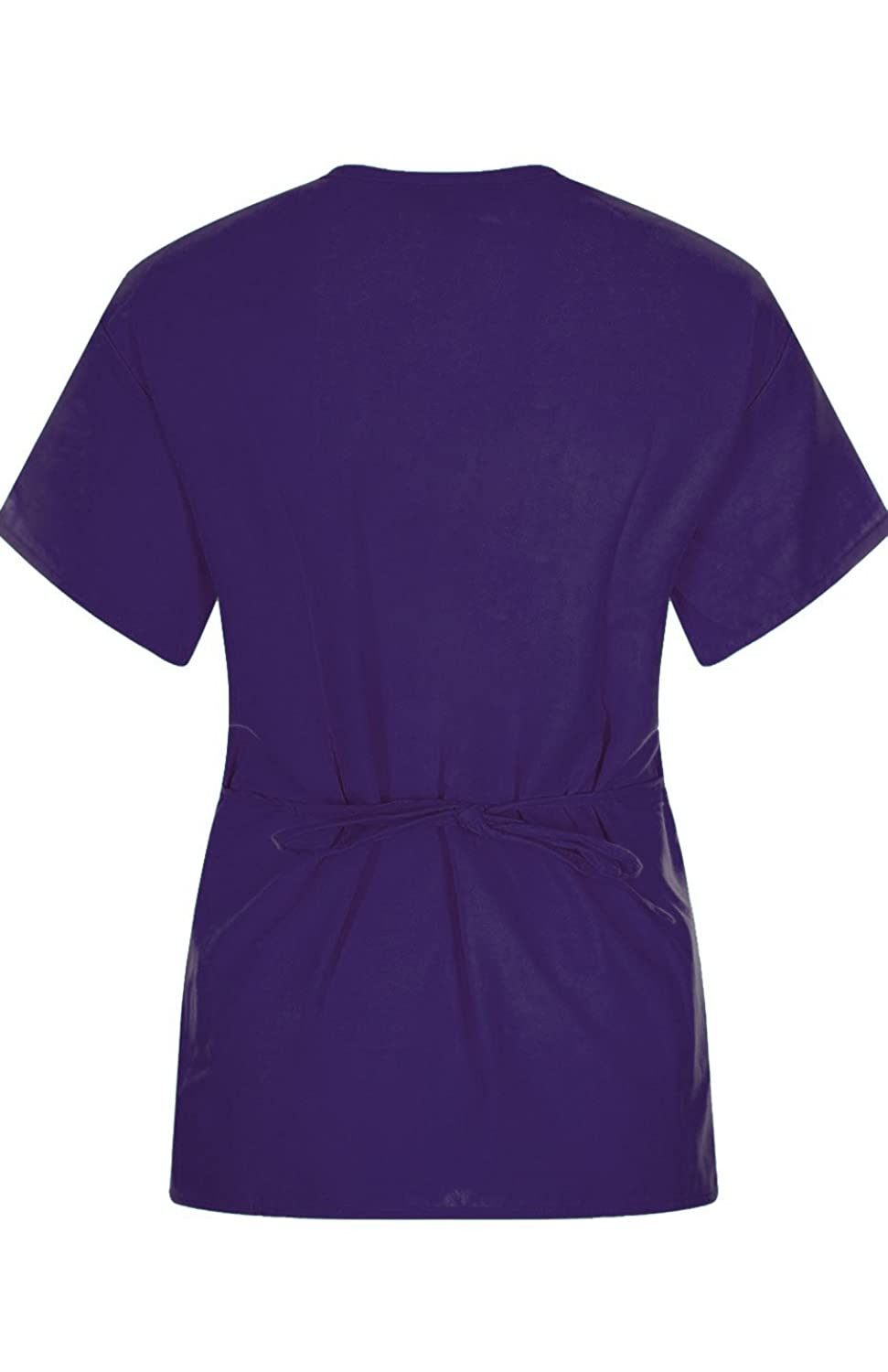 MedPro Womens Solid Medical Scrub Image 3