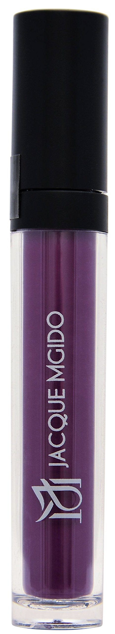 Jacque Mgido Cosmetics - Dylan Dark (Dark Purple) Crack Free Lip Stain, Matte Finish - 0.18 Ounce (Pack of 1)