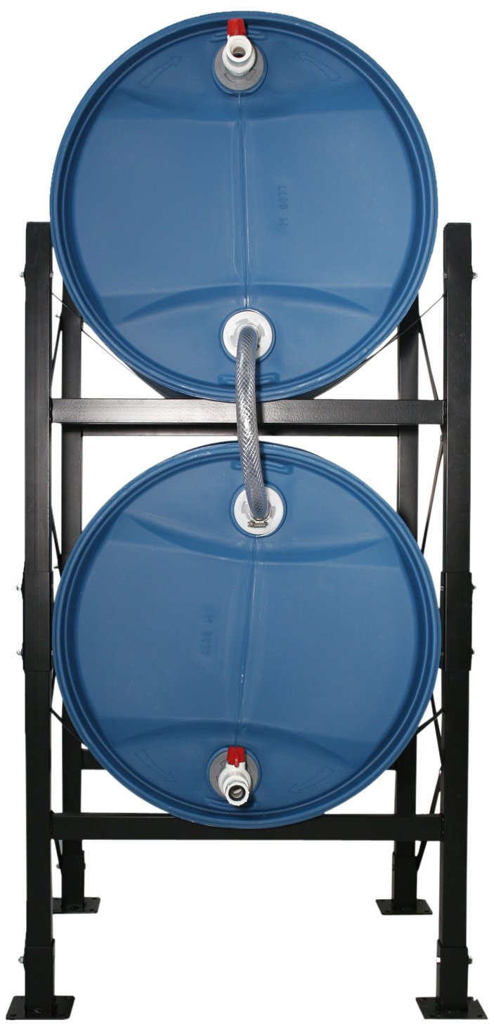 Titan Ready USA 73220 Hydrant Water Storage System with Barrels by Titan Ready USA