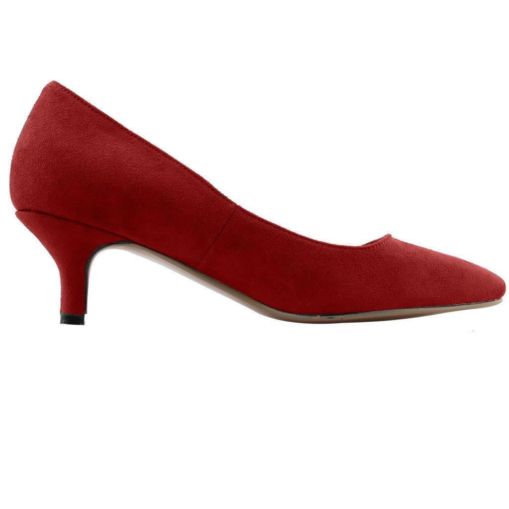 Calaier  Cahalfway, Damen Pumps, rot - Größe: rot - Größe: - EU 40,5 - 59c03b