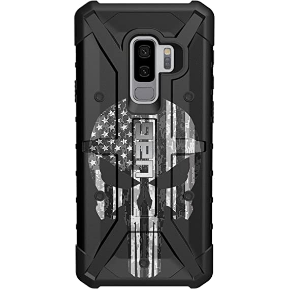 competitive price 0f6a0 3362e Limited Edition - Customized Designs by Ego Tactical Over a UAG- Urban  Armor Gear Case for Samsung Galaxy S9 Plus (Larger 6.2