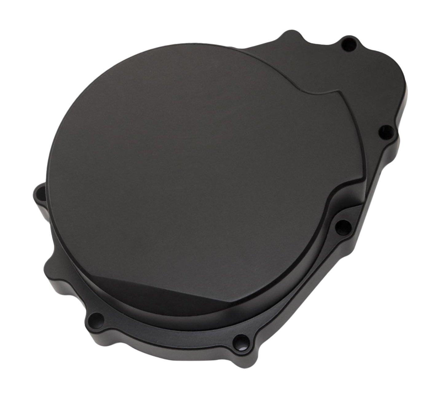 Yana Shiki USA A2927B Anodized Black Solid Stator Cover