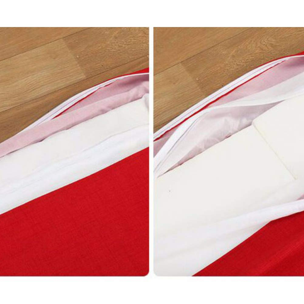 Ricambio Poltrona Sdraio Schienale Pad Sedia A Dondolo Pad Nodric Stile Tessuto in Lino Schiuma di Memoria Cuscino-Blu 135x56cm KTOL Schienale Alto Cuscino Imbottito