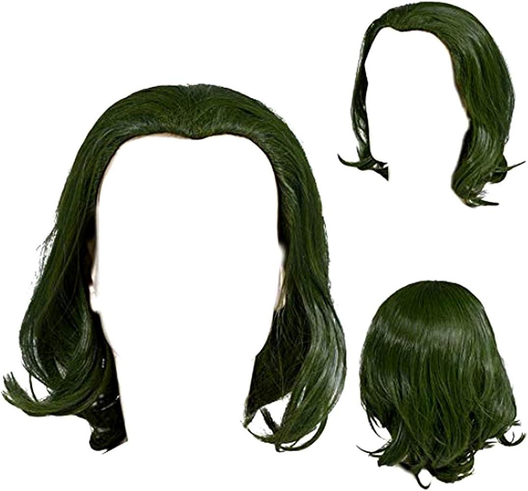 Peleca de Payaso Clown Wig Unisex para Hombre Mujer Disfraz ...