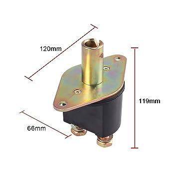 Batterie Trennschalter 2500A 2-polig Natoknochen Nicht Aus Batterie Hauptschalter F/ür Fahrzeug Auto LKW Boot