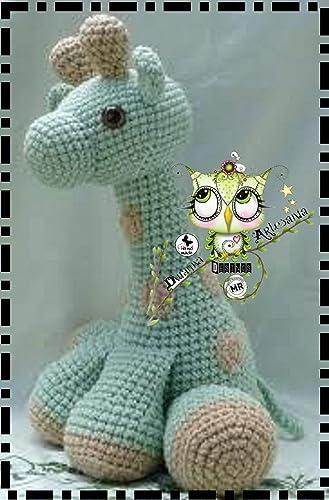 Patrón jirafa amigurumi | Etsy | 500x329