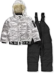 DKNY Baby Girls 2 Piece Snowsuit Set
