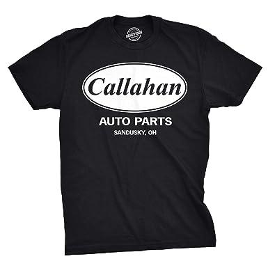 805bb97ef Mens Callahan Auto T Shirt Funny Shirts Cool Humor Movie Quote Sarcasm Tee  (Black)