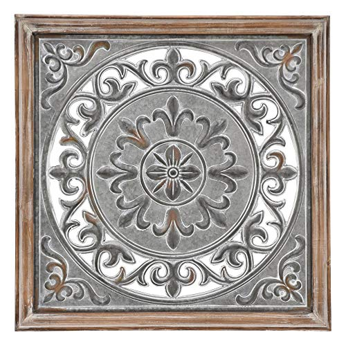 (Three Hands Art Metal Wall Decor,)