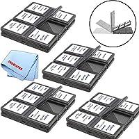 48 ranuras, tarjetas de memoria SD /SDHC Estuches de plástico duro + Paño de microfibra Tronixpro
