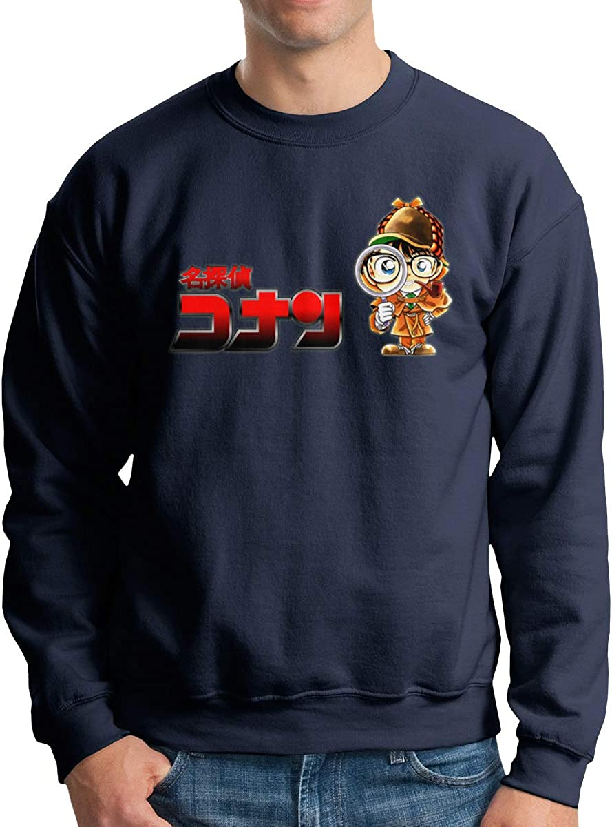 Lhdesign Men Detective Conan Sherlock Holmes On Chest Stylish Sweater