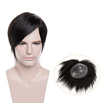 Toupet Cheveux Naturel Prothèse Capillaire