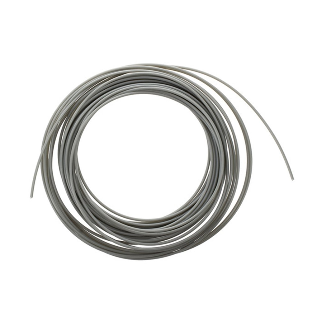 UKCOCO PLA 3D Drucker Filament 1,75 MM Filament Liefert Hochpräzise 100g Spule für 3D DIY Druck Malerei (grau)