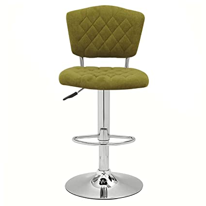 Miraculous Asense Adjustable Bar Stools Chairs And Rotation Velvet Fabric Swivel Hydraulic Bar Stool Olive Set Of Two Machost Co Dining Chair Design Ideas Machostcouk
