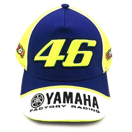 Valentino Rossi VR46 M1 Yamaha Racing Team MotoGP Kids Gorra oficial 2016 898e6fb9e32