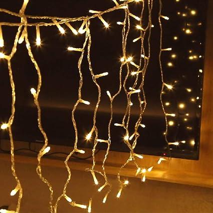 . Aluan Christmas Lights String Lights 100 LED 33ft 10ft 8 Modes Plug in  Indoor String Lights 31V Waterproof Fairy Lights Home Garden Party Wedding