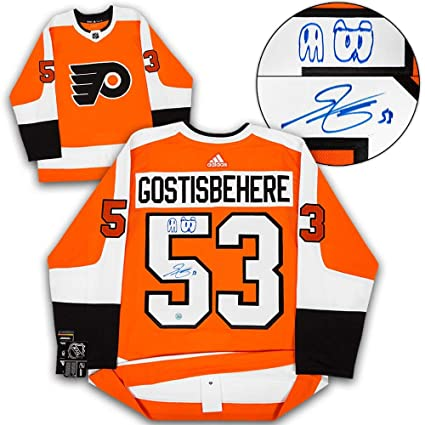 9b4e00296 Image Unavailable. Image not available for. Color: Autographed Shayne  Gostisbehere Jersey ...