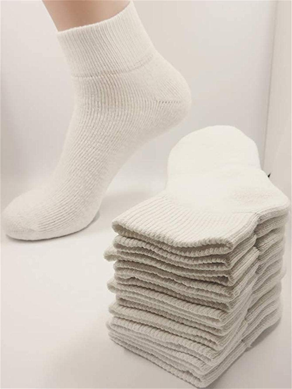 12 Pack Unisex Teens Cotton Comfortable Cushioned Athletic Socks Crew,Low Cut Quarter Cut No Show