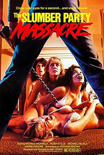 Amazon.com: The Slumber Party Massacre - 1982 - Movie Poster Magnet:  Kitchen & Dining