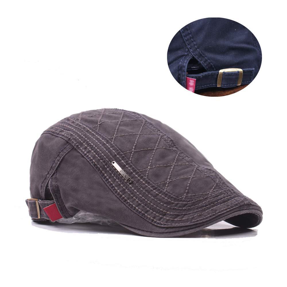 Cotton Size Adjustable Beret Cap for Unisex ZEVONDA Autumn Cap