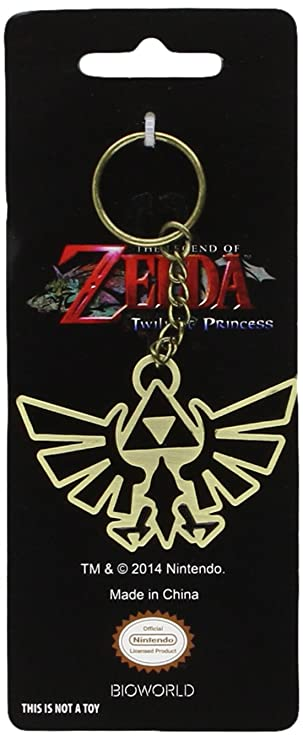 The Legend Of Zelda Twilight Princess Metal Triforce Symbol Key
