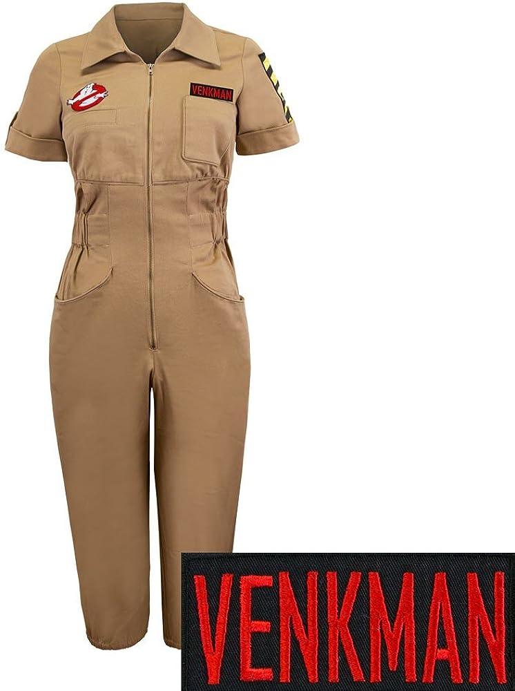 Los Cazafantasmas Venkman disfraz para mujer Pelele Mono - Beige ...