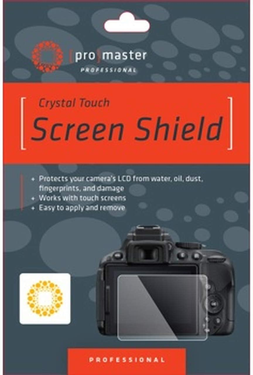 Promaster Crystal Touch Screen Shield for Nikon D750