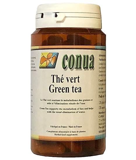 Té verde 120 cápsulas adelgazantes, Té Virgen, sobrepeso ...