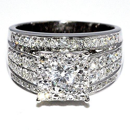 175cttw diamond wedding ring - Large Wedding Rings