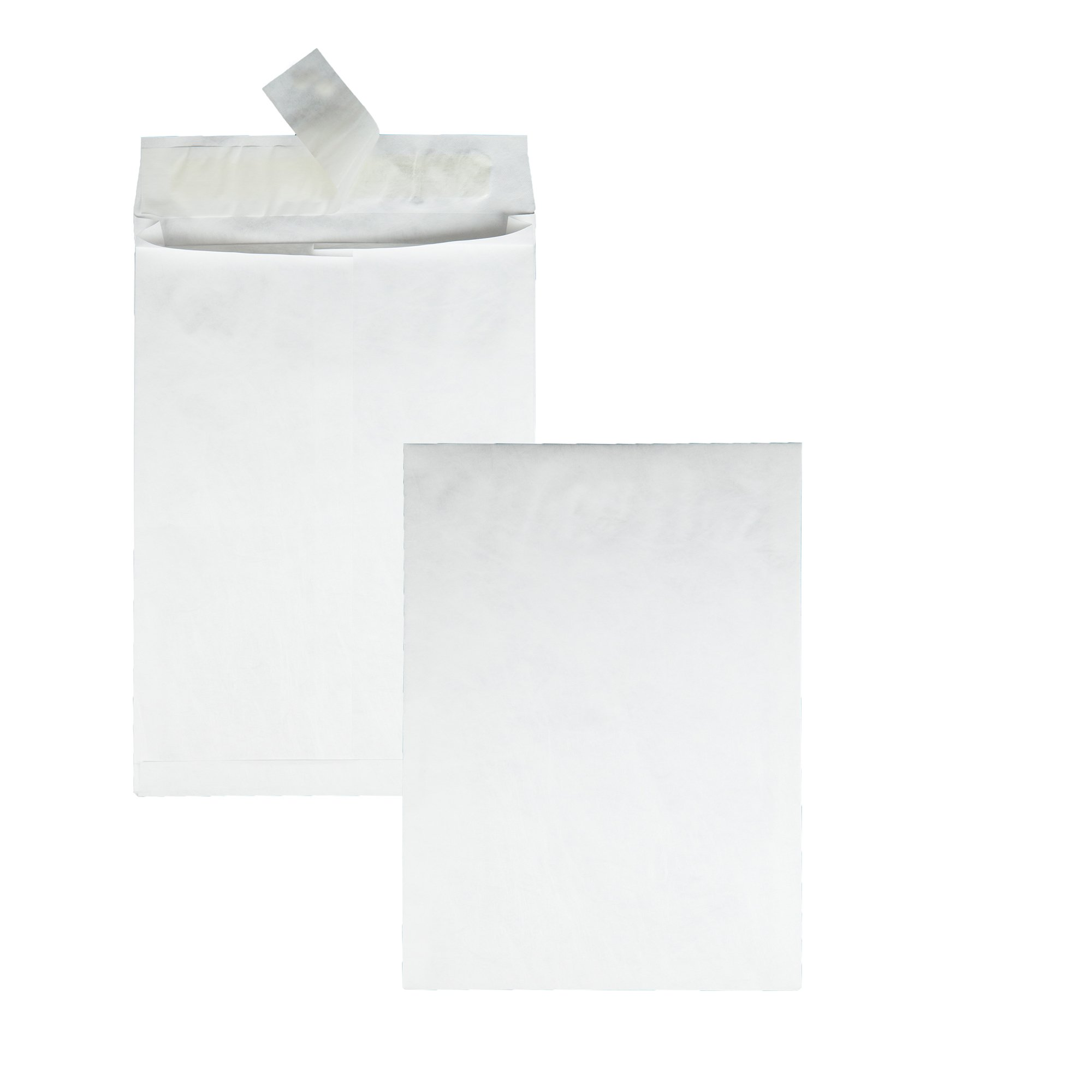 Survivor R4200 Tyvek Expansion Mailer, 10 x 13 x 1 1/2, White, 18lb (Case of 100)