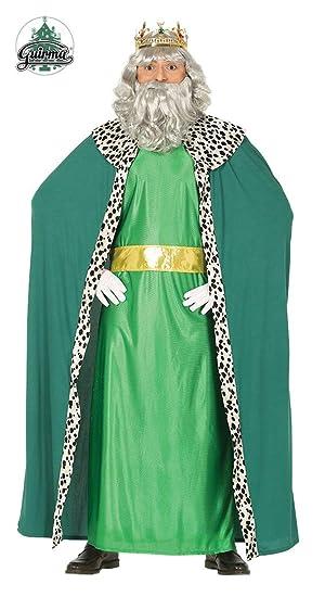 GUIRMA Traje Rey Magio melchor, Color Verde, L (52 – 54), 41688