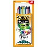 Bic Pencils Extra Fun Stripes 24 Pack