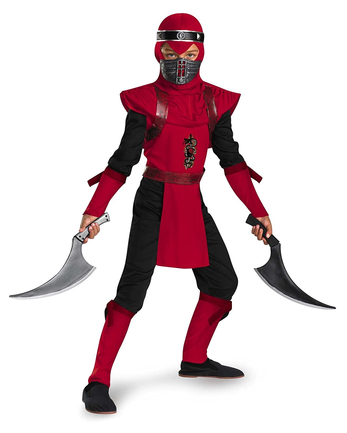 Amazon.com: Shadow Ninjas Night Fury Red Viper Ninja Deluxe ...