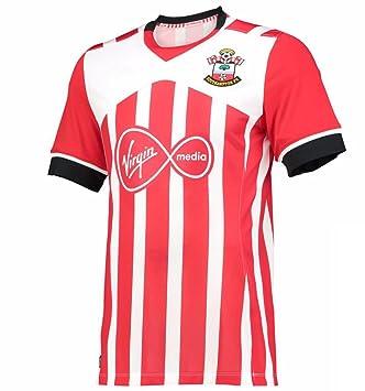 2016 2017 Southampton FC Camiseta de DIY nombre y número casa fútbol Jersey de flores en
