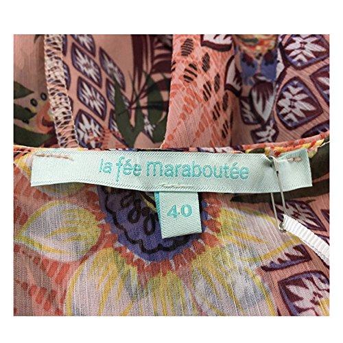 Fee In Maraboutee Fantasia Rosa 100 Made Viscosa Blusa Italy Donna La p6zqd6