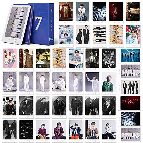 BTS LOMO Cards 54Pcs BTS Map of the soul 7 Card New album Card BANTAN Boys BTS Postcards Map 7 Cards (map 7-pink)
