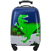 GURHODVO Kids Luggage for boys suitcase with spinner wheels Carry On hard shell Travel Trolley lightweight cute gift…