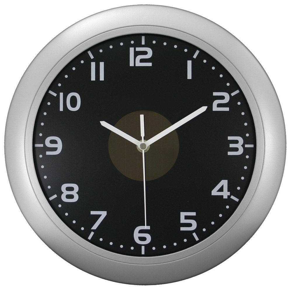 Amazon equity by la crosse 65905 hybrid solar 12 inch analog amazon equity by la crosse 65905 hybrid solar 12 inch analog wall clock home kitchen amipublicfo Gallery