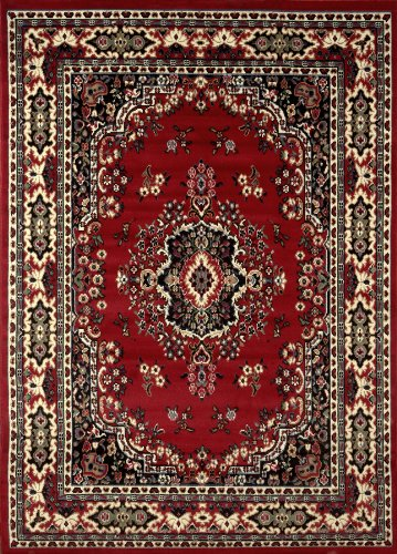 Home Dynamix 10-7069-202 Premium Collection Area Rug, 9 x 12-Feet, Claret by Home Dynamix