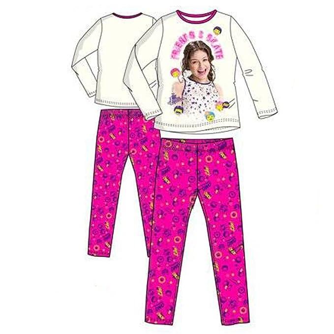 Soy Luna 25185_115027 - Pijama NIÑA niñas Color: Blanco Talla: 6 años