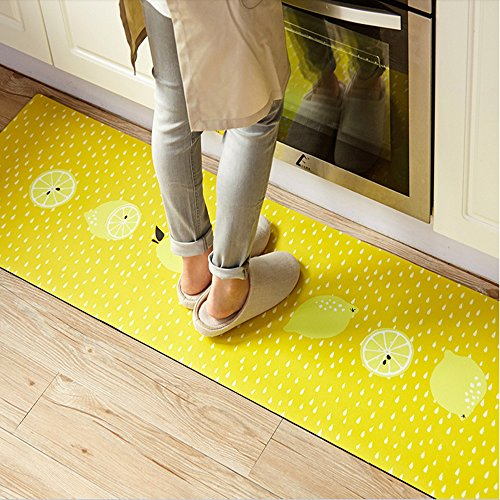 Decohome Anti-Fatigue Comfort Mat-17.7 x 59 inch Ergonomic Multi Surface, Non-Slip - Waterproof All-Purpose Luxurious Comfort - for Kitchen, Bathroom or Workstations