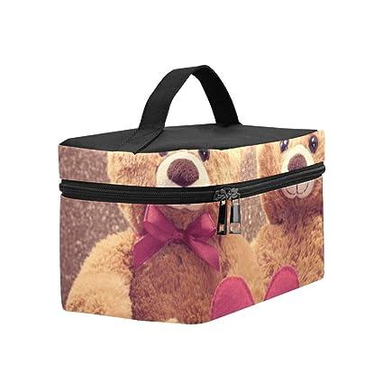 540d1fe818c7 Amazon.com: Couple Teddy Bears Loving Date Handmade Lunch Box Tote ...