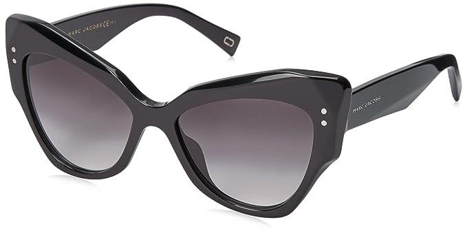 30b3f61d83 Marc Jacobs Women s Marc116s Cateye Sunglasses BLACK DARK GRAY GRADIENT 52  mm