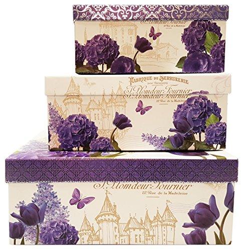Alef Elegant Decorative Themed Nesting G - Elegant Purple Box Shopping Results