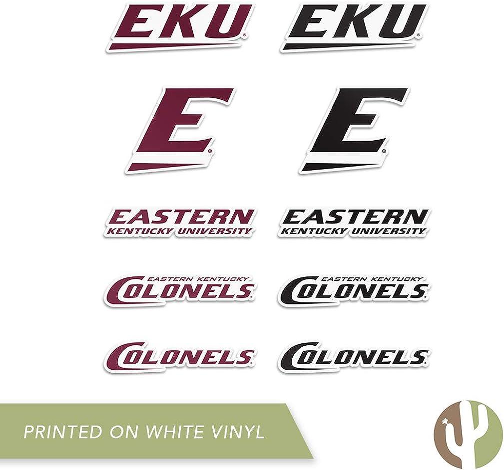 Type 2 Sheet Eastern Kentucky University EKU Colonels NCAA Sticker Vinyl Decal Laptop Water Bottle Car Scrapbook