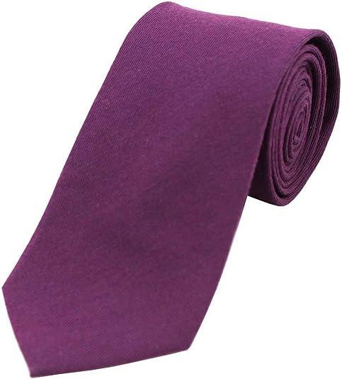 David Van Hagen Purple Lana llano corbata Rich: Amazon.es: Zapatos ...